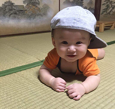 畳 赤ちゃん