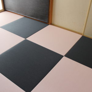 和紙畳、樹脂畳
